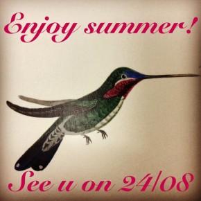 ENJOY SUMMER 2013!